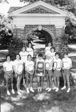 1984 women's tennis team