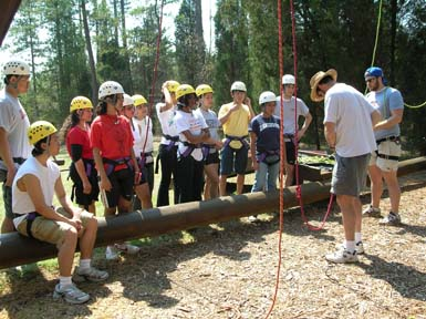 DO group - Ropes Course