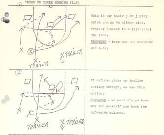 Driesell's playbook
