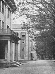 Dormitory Row, 1924