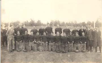 Davidson Football Team 1920s