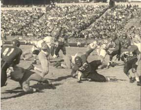 Davidson Football Game, 1950s