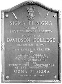 Sigma Pi Sigma tablet