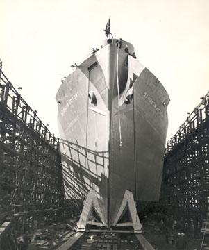 Ship launching