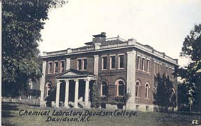 Martin Chemical Laboratory as built