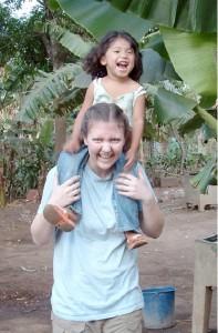 Carolyn Klaasen '09 and Angelica, 2007