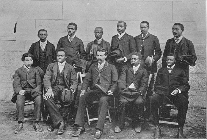 Photo of African American men