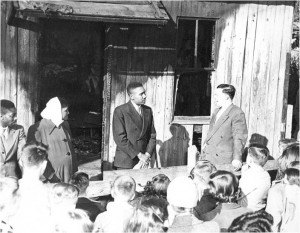 Brady's Alley Fire – December 1949, prompted community action.
