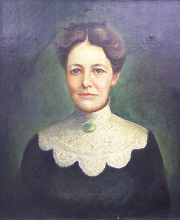 painting of Ms. Shaw