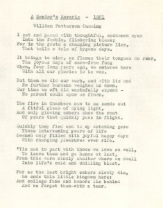 scan of the poem