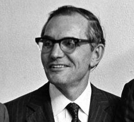 Sam Spencer, Davidson College president who hired Will Terry, 1960s.