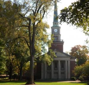 Davidson College Presbyterian Church 2015