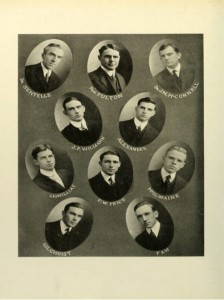The Founders of the Blue Pencil Club (1915)
