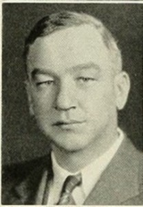 Photograph of Professor Erwin (1934)