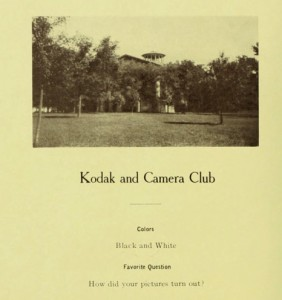 Kodak Camera Club Advertisement (1909)