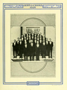 The Glee Club of 1928 (Quips and Cranks)