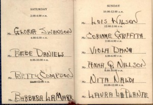Albert F. Simpson appointment book