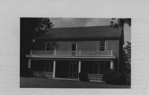 The Lingle House c.1960