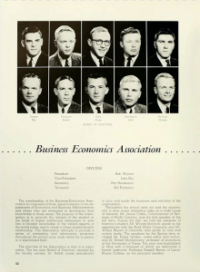 "The members of the Business Economics Association found in the 1959 ""Quips and Cranks."""