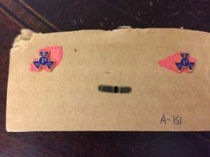 Alpha Phi Omega Lapel Pins