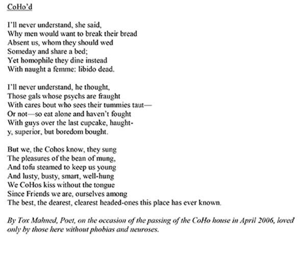 Coho Poem, 2006