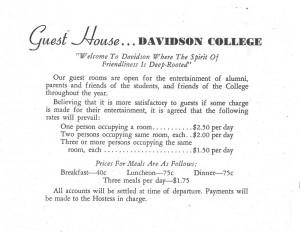 Guest House brochure
