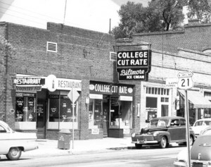 Davidson businesses on main street