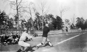 Baseball snapshot from scrapbook of William Buchanan, class of 1923