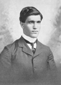 David Yonan, class of 1900