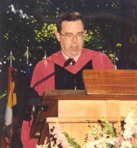 Robert C. Williams, Dean of Faculty and VP for Academic Affairs, 1986-1998