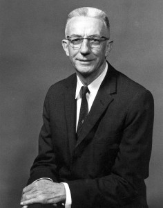 C. J. Pietenpol, Dean of Faculty, 1953-1958