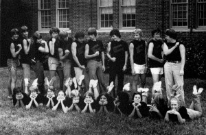 July Experience students in 1978, the 3rd year of the program