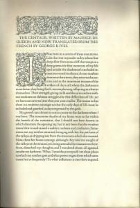 Centaur 1915 - 1st page