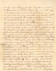 Page 2 of Bogle's letter, November 22, 1839
