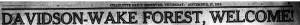Banner headline in Charlotte Observer on November 27, 1913