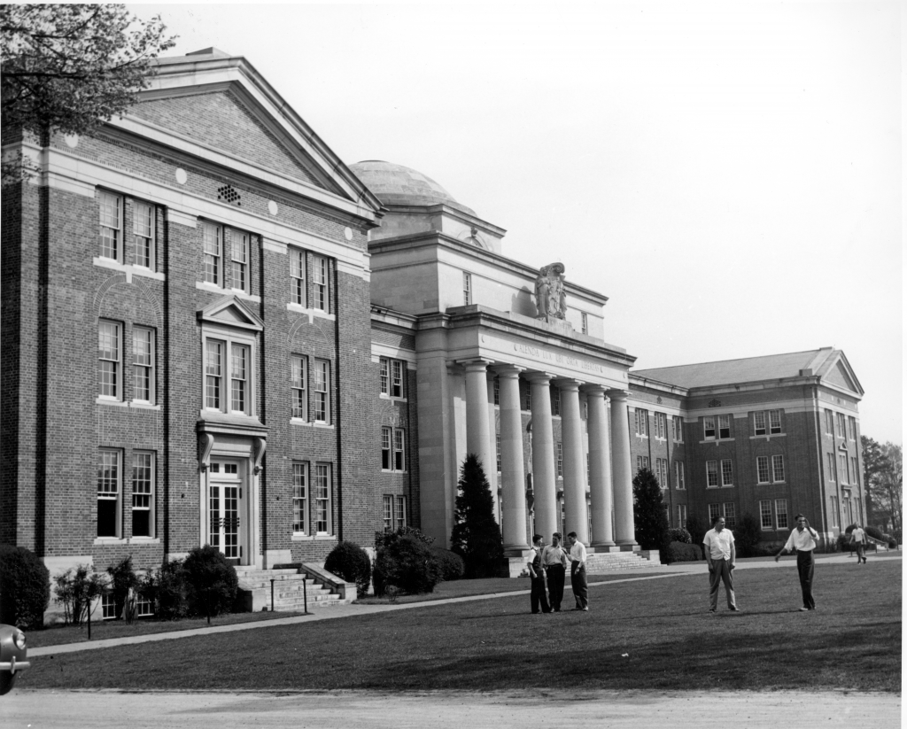 New Chambers Building, completed in 1929.