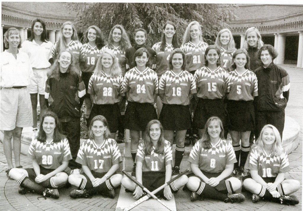 1995 field hockey team, the last in the conference title run (Davidson's field hockey team currently plays in the NorPac conference, not Deep South)