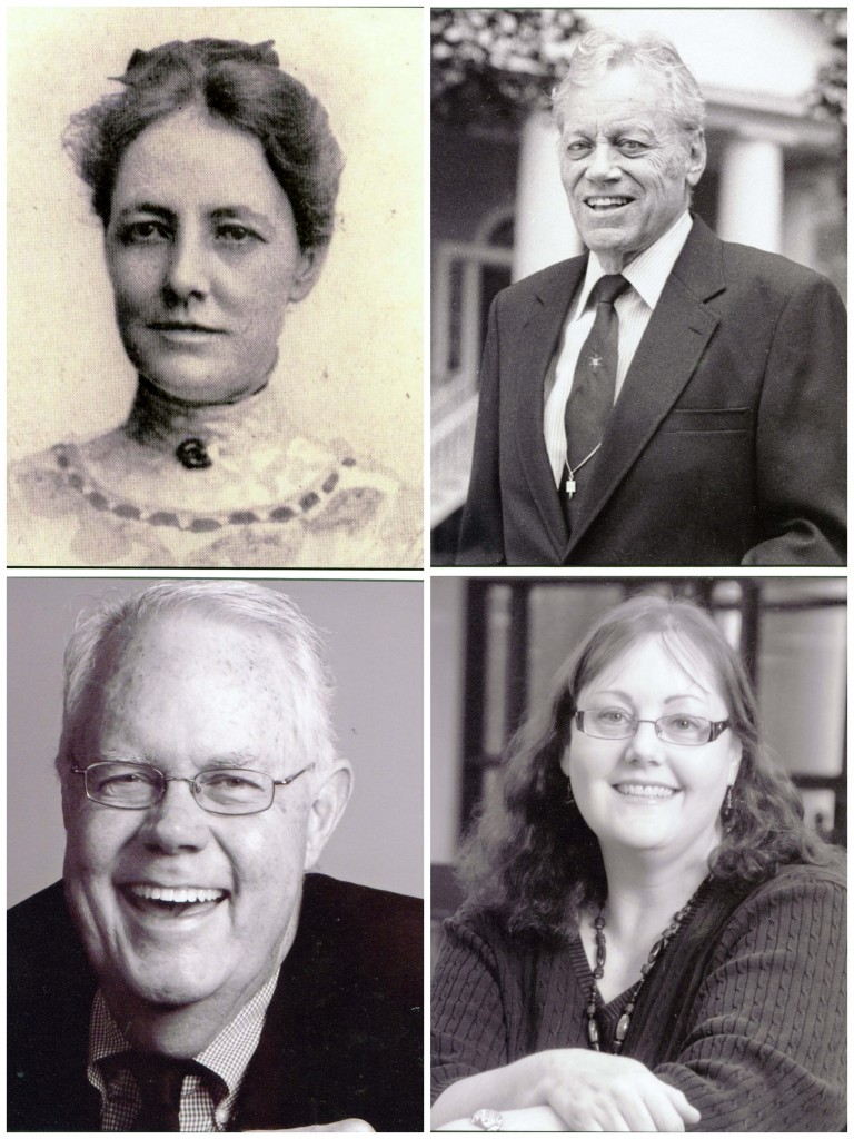 Cornelia Rebekah Shaw, 1907 - 1936; Chalmers Gaston Davidson (Class of 1928), 1936 - 1975; Leland M. Park (Class of 1963), 1975 - 2006; and Gillian Gremmels, 2007 - present.