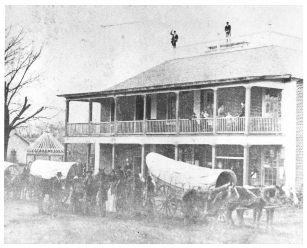 Carolina Inn as the Helper Hotel, circa 1870s.