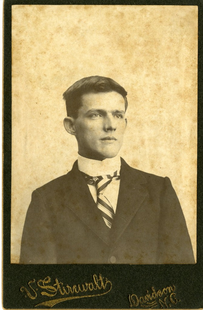 F.M. Hobbs, a frequenter of Helper's store during his days at Davidson.