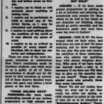 "January 14, 1955 Davidsonian article by Gilbert Gragg with the heading, ""ODK, PBK, Christ: Resolutions for '55"""