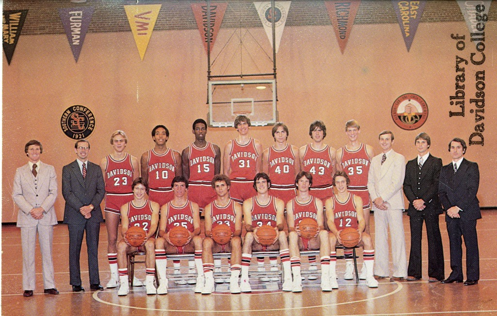 The team photo from the 1978 - 1979 Wildcats - McKillop is on the far left.