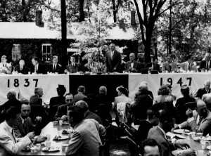 Reunion/Commencement luncheon in 1947