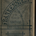 Frankenstein, cover