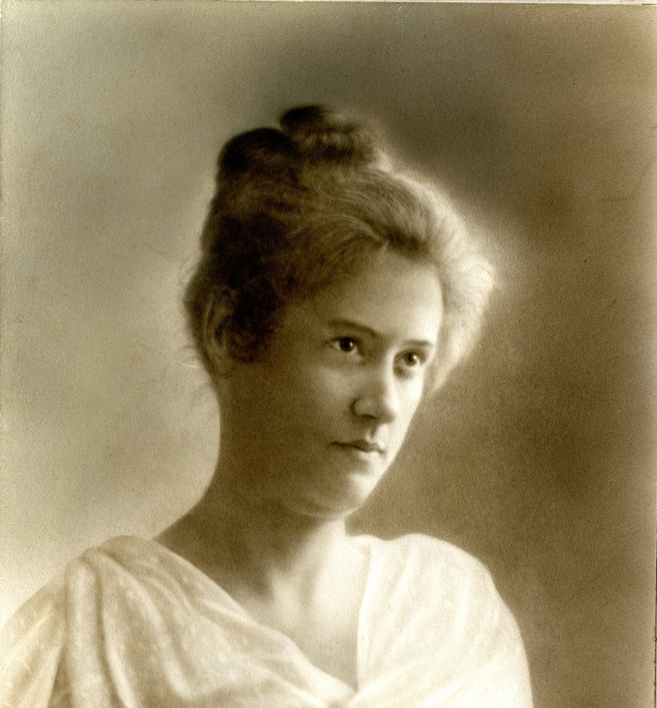 Portrait of Jennie Vardell Rumple Martin, taken in Charlotte circa 1900.