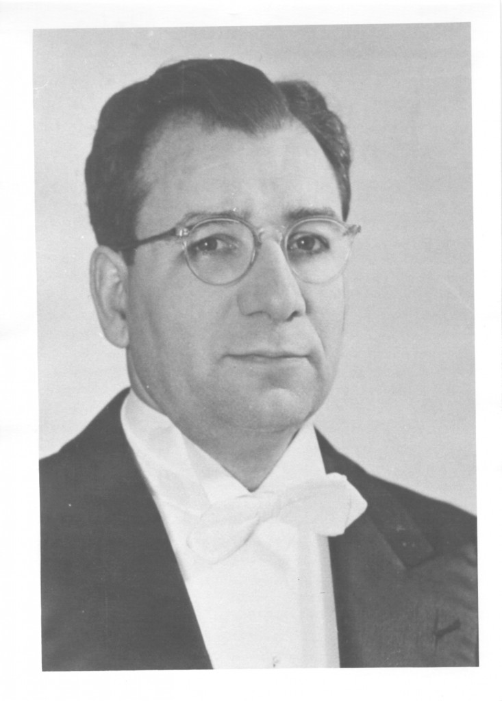 James Christian's Pfohl's faculty portrait, circa 1945.