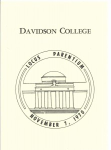 1970 Parents Day schedule