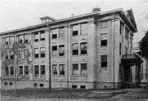 Georgia Dormitory (built 1909, demolished 1956)