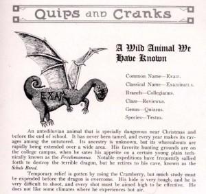 1918 finals humor