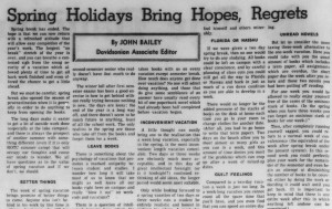 April 8, 1966 editorial